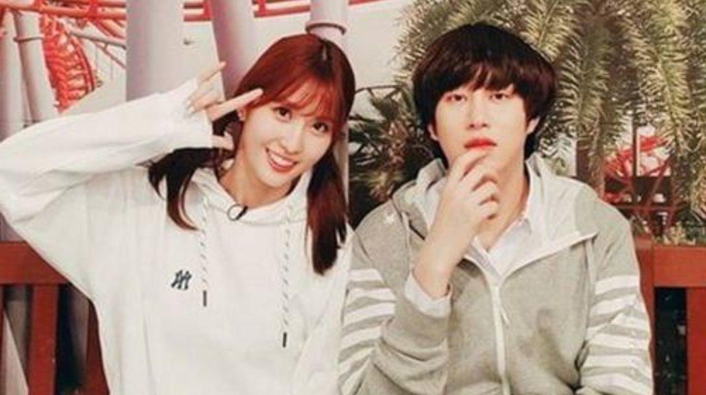 Hee Chul and Momo