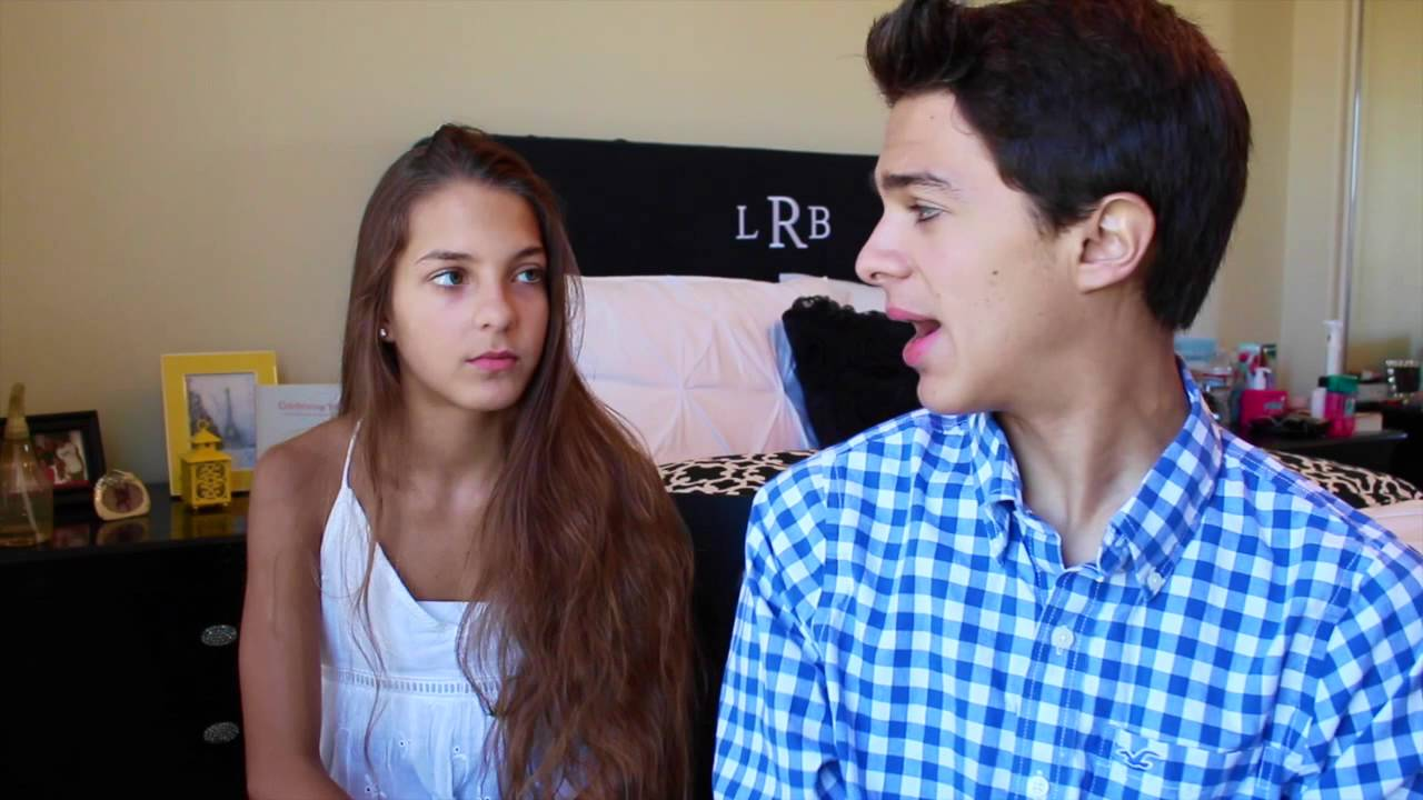Brent Rivera and Lexi