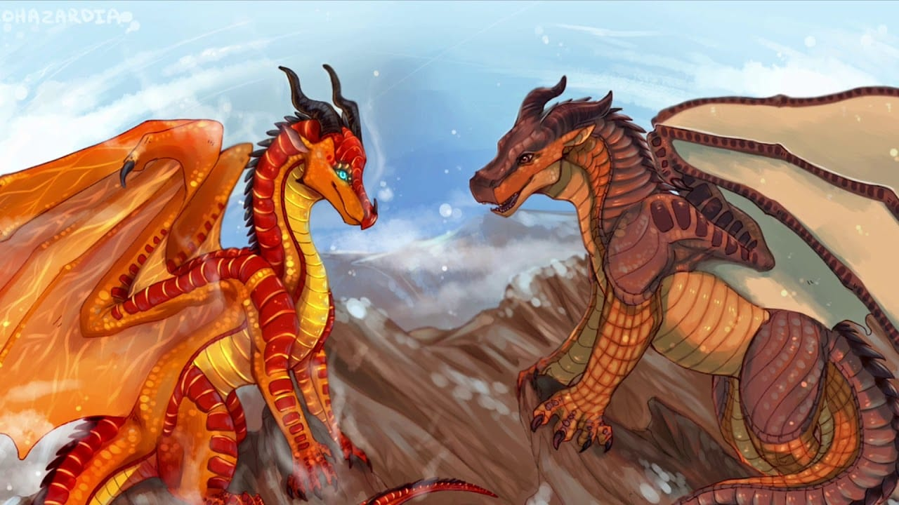 The Wings of Fire book illustration