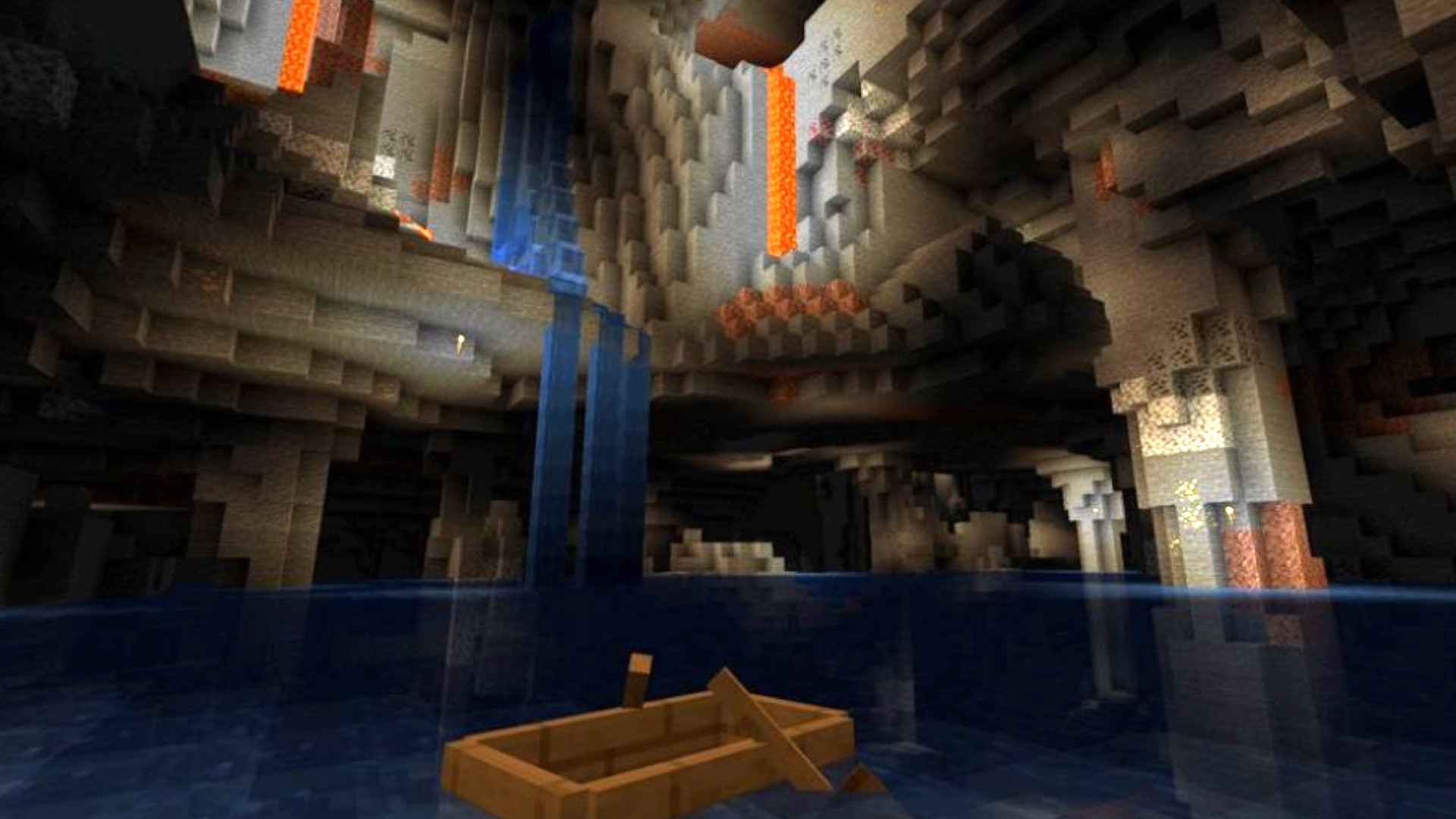 Minecraft Noise Caves