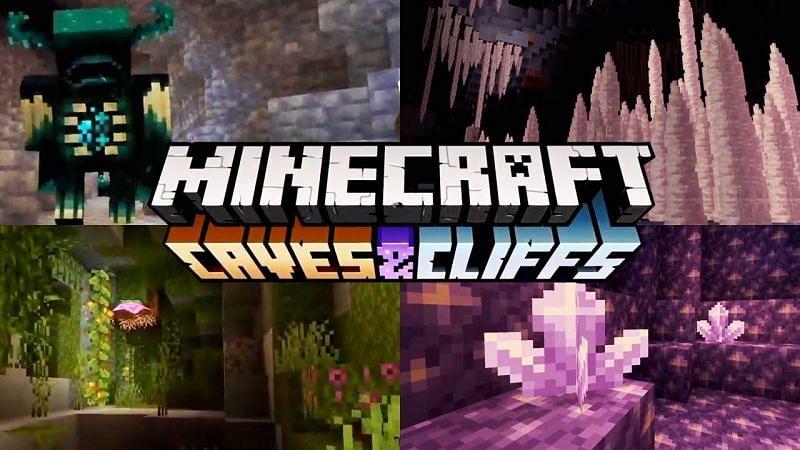 Minecraft Cliffs and Caves update