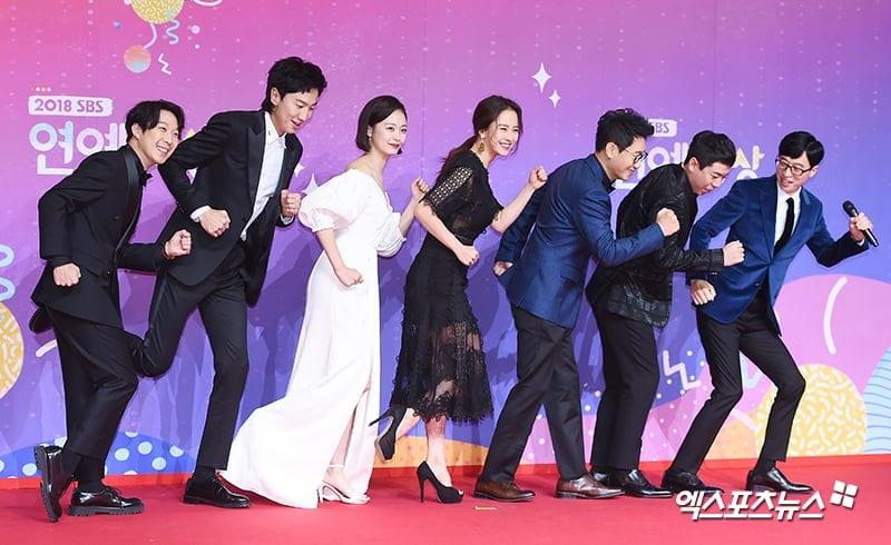 Running Man lee kwanng Soo