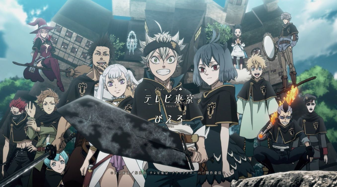 Black Clover Movie - Everything We Know So Far
