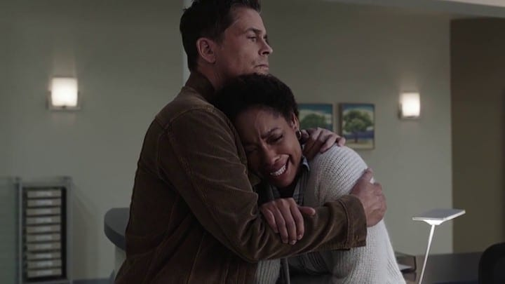 Owen Comforts Tommy At The End Of 9-1-1 Lone Star S02E13