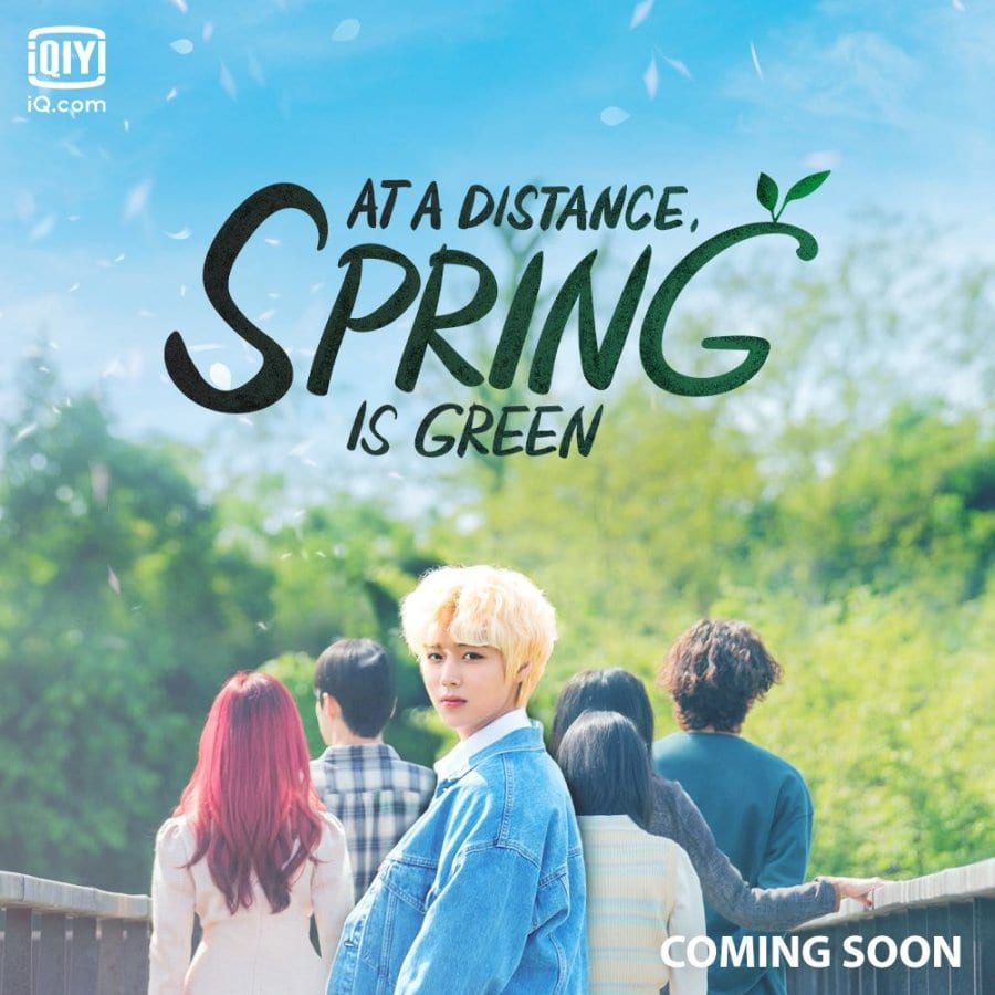 At A Distance Spring Is Green