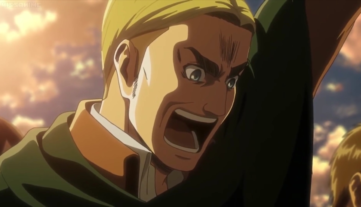Strong characters in Attack on Titan