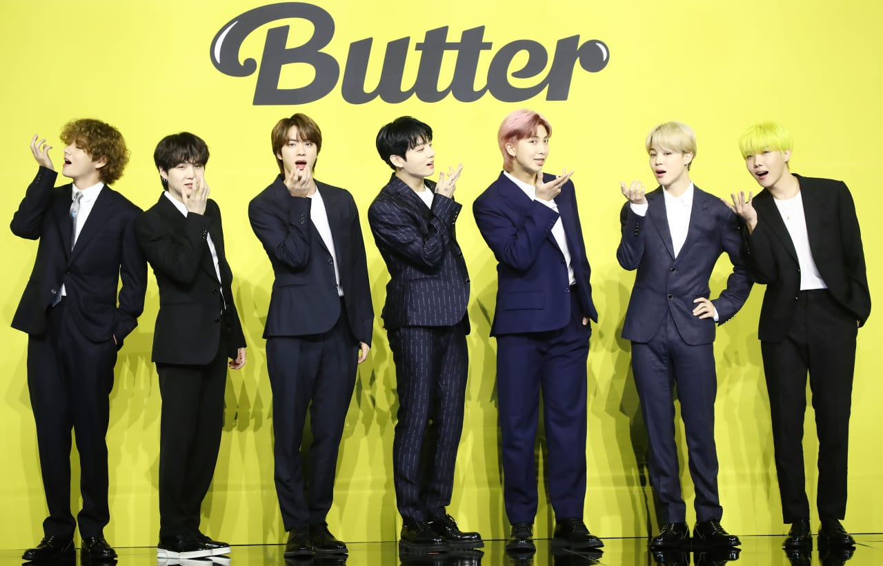 BTS Press Conference Butter