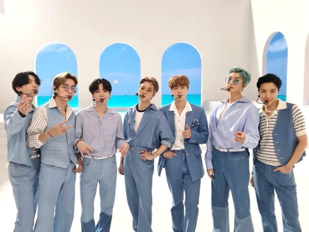 BTS Lotte Duty Free Concert 2021