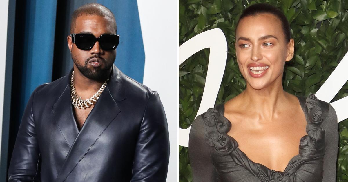 Irina Shayk- Kanye West