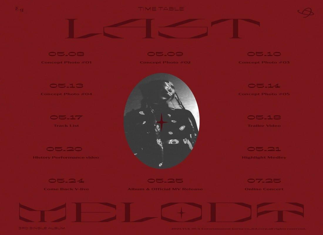 Everglow single album Last Melody