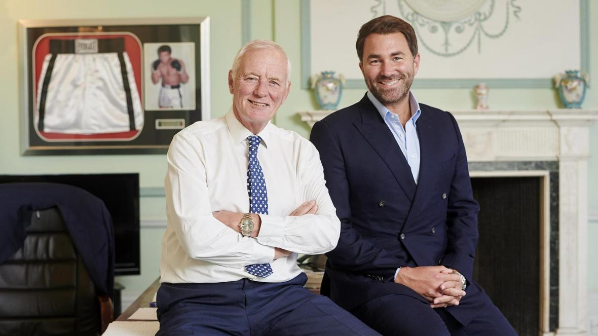 Who is Barry Hearn's son Eddie