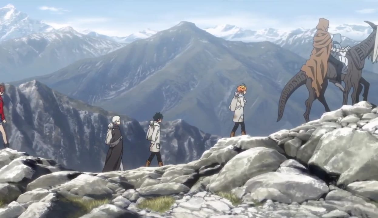 The promised Neverland goldy pond arc