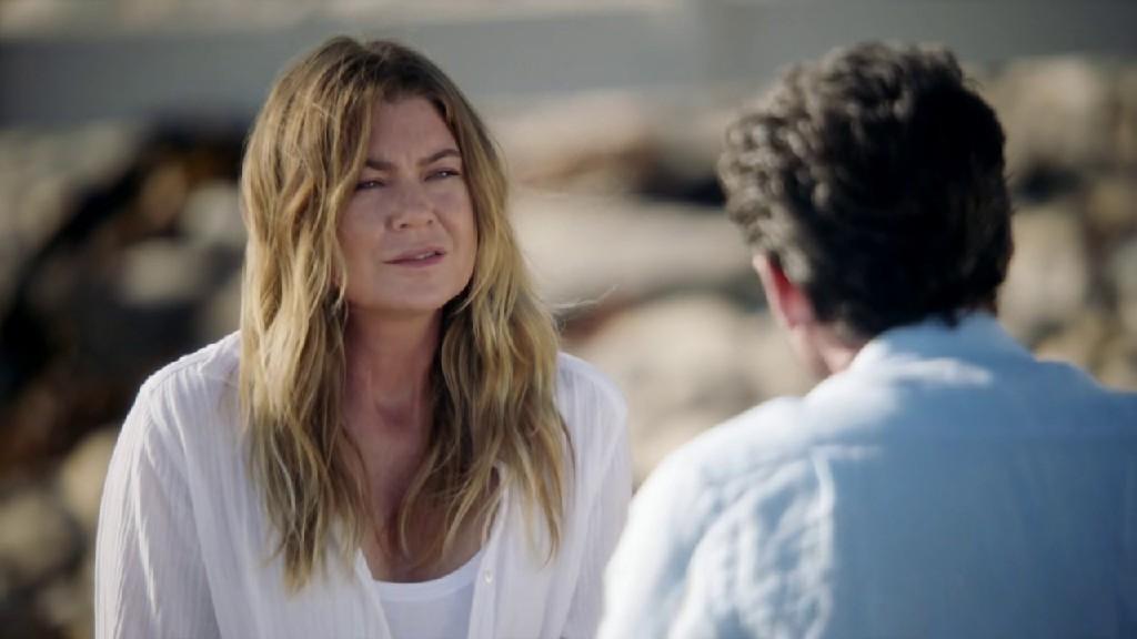Meredith Reconcile's With Derek