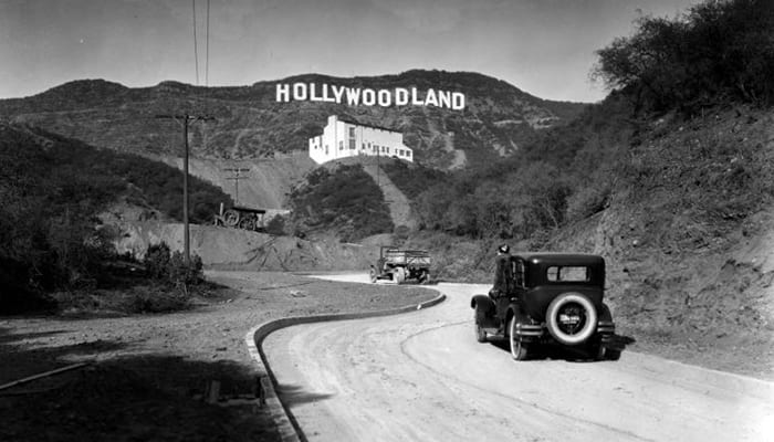 When Was The Hollywood Sign Erected