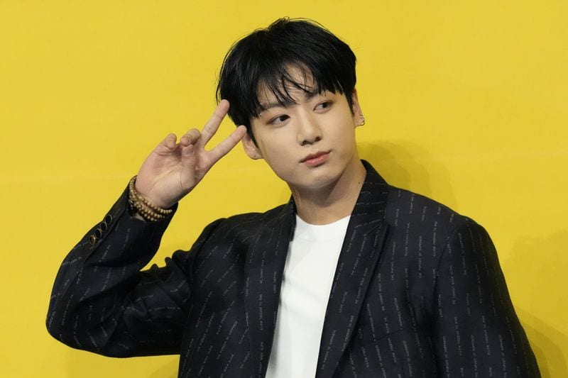 BTS Jungkook New Look