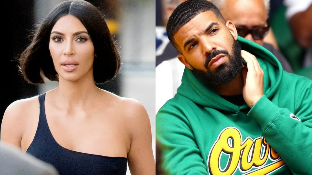 Drake and Kim in relationship