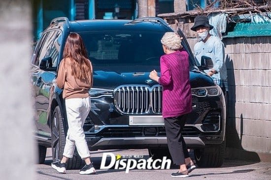 Lee Seung Gi and Lee Da In