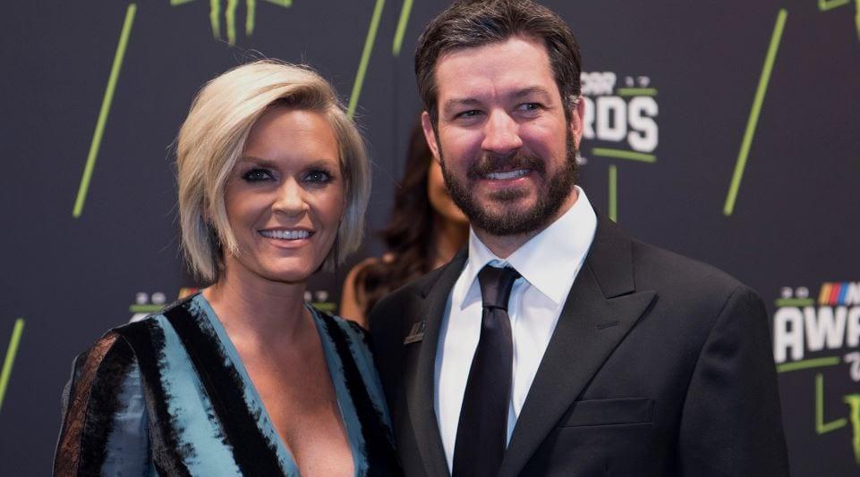 Martin Truex Jr and girlfriend Sherry Pollex