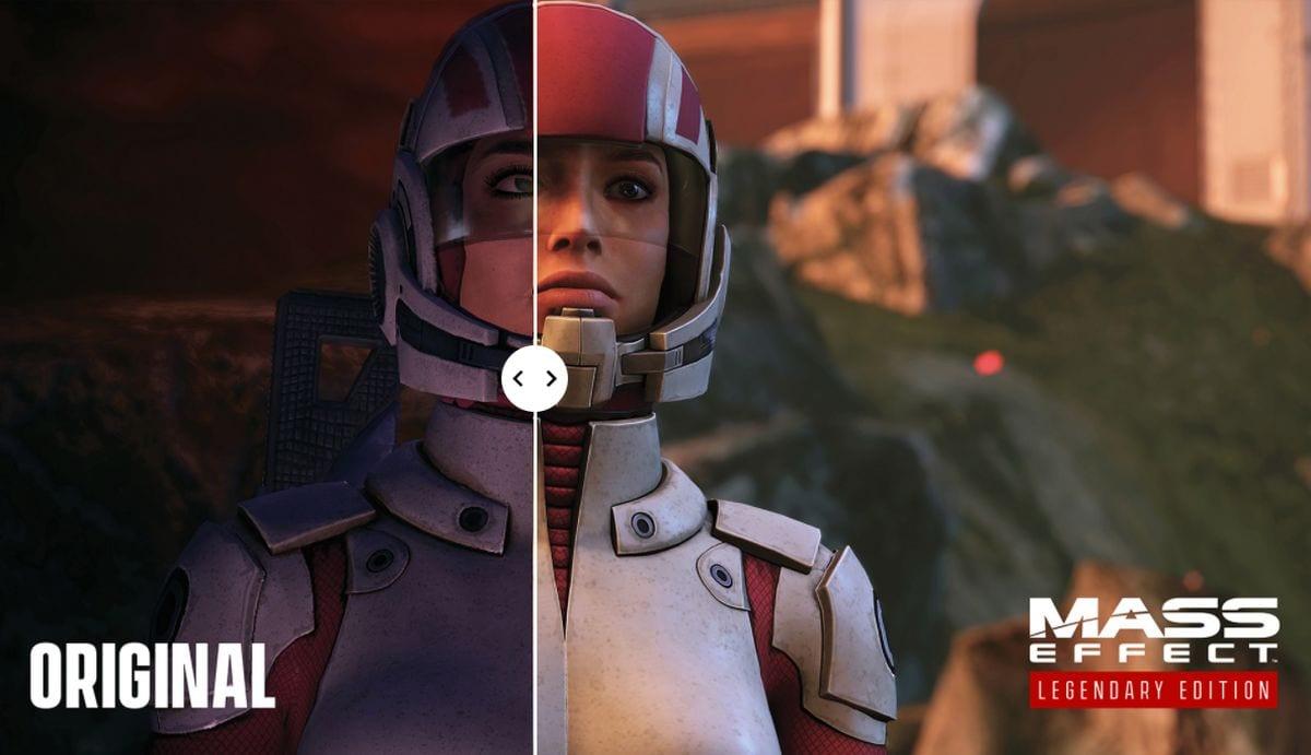Mass Effect Graphic Comparison