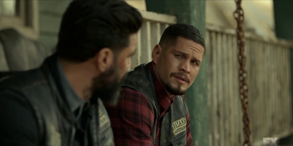 EZ and Angel Reconcile In The FInale of Mayans M.C. Season 3