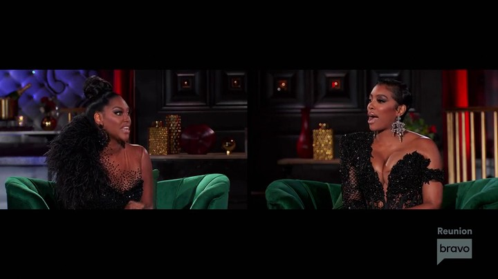 Kenya and Porsha Throw Accusations after Accusations At Each Other