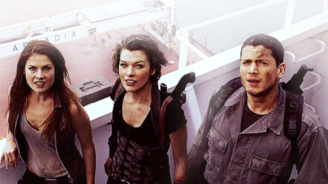 Resident Evil Ending Scene
