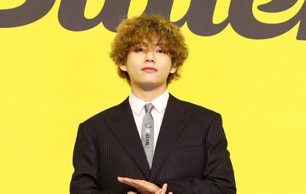BTS V Poodle Hair