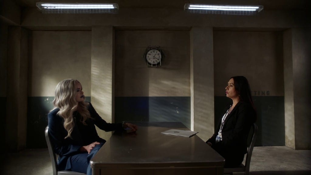 Frost Finally Asks Krammer's Motives In THe Flash S07E08