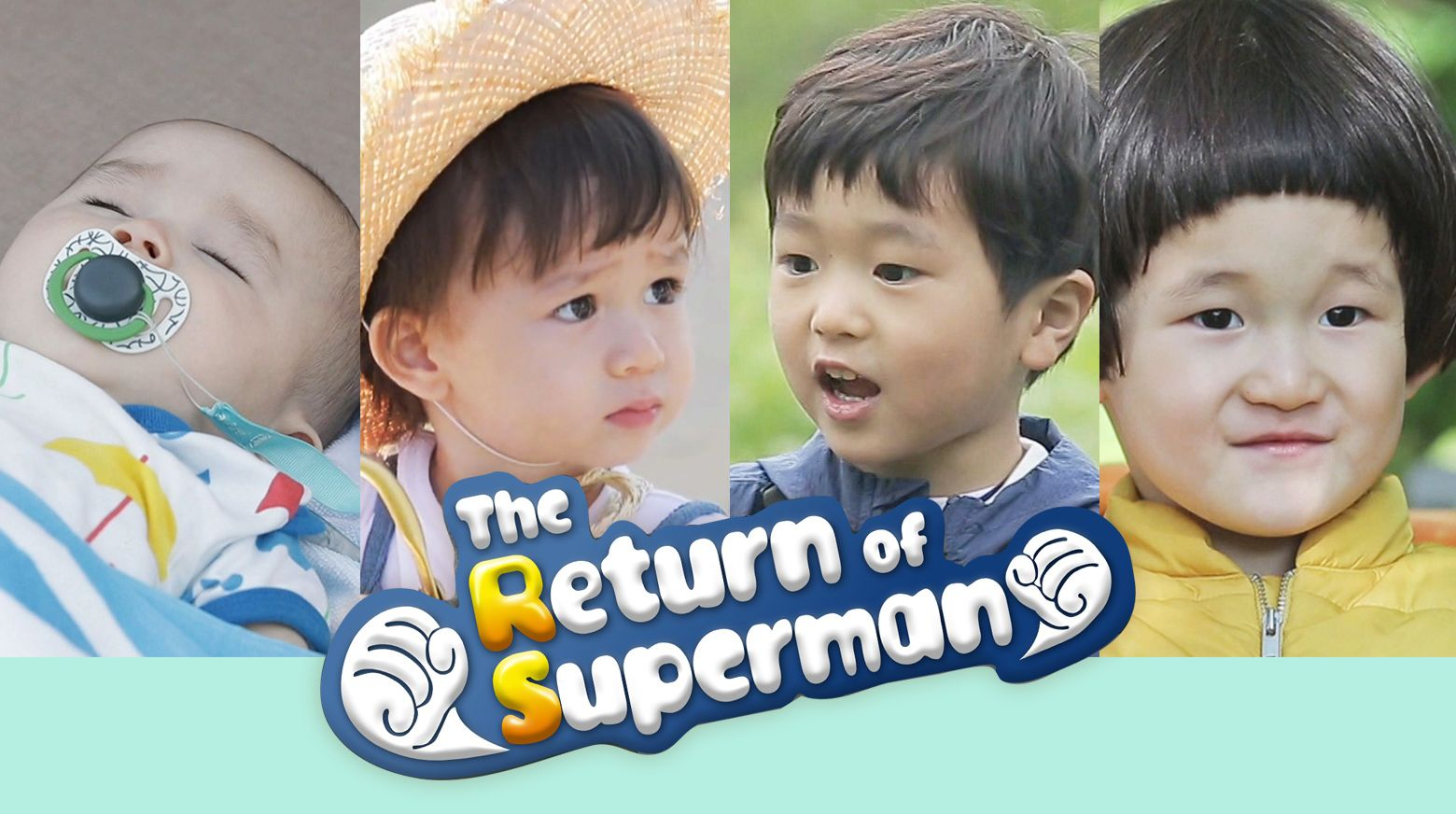 Adorable Kids in The Return Of Superman