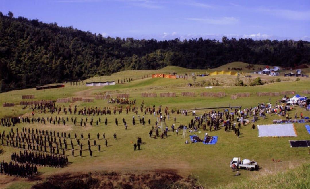 The last samurai shooting locations