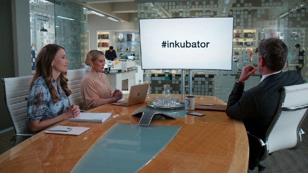 Liza and Kelsey Introduce The Inkubator In Younger S07E06