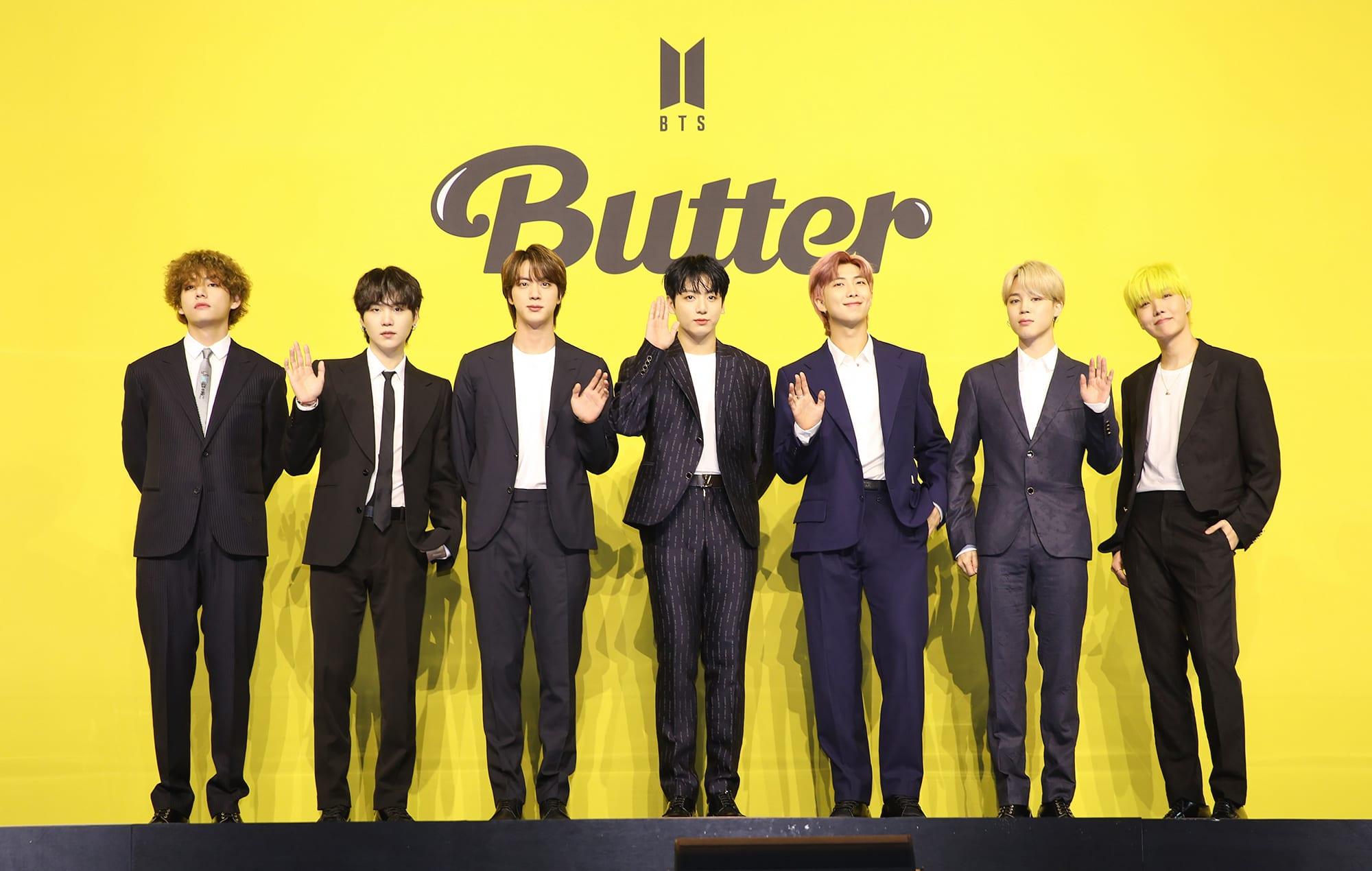 Butter bTS updates