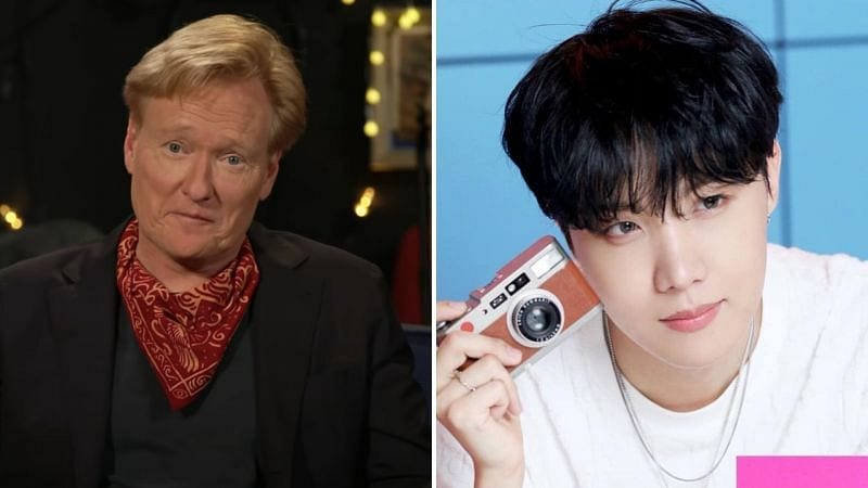 conan and J-hope on the hilarious mistake made by J-hope