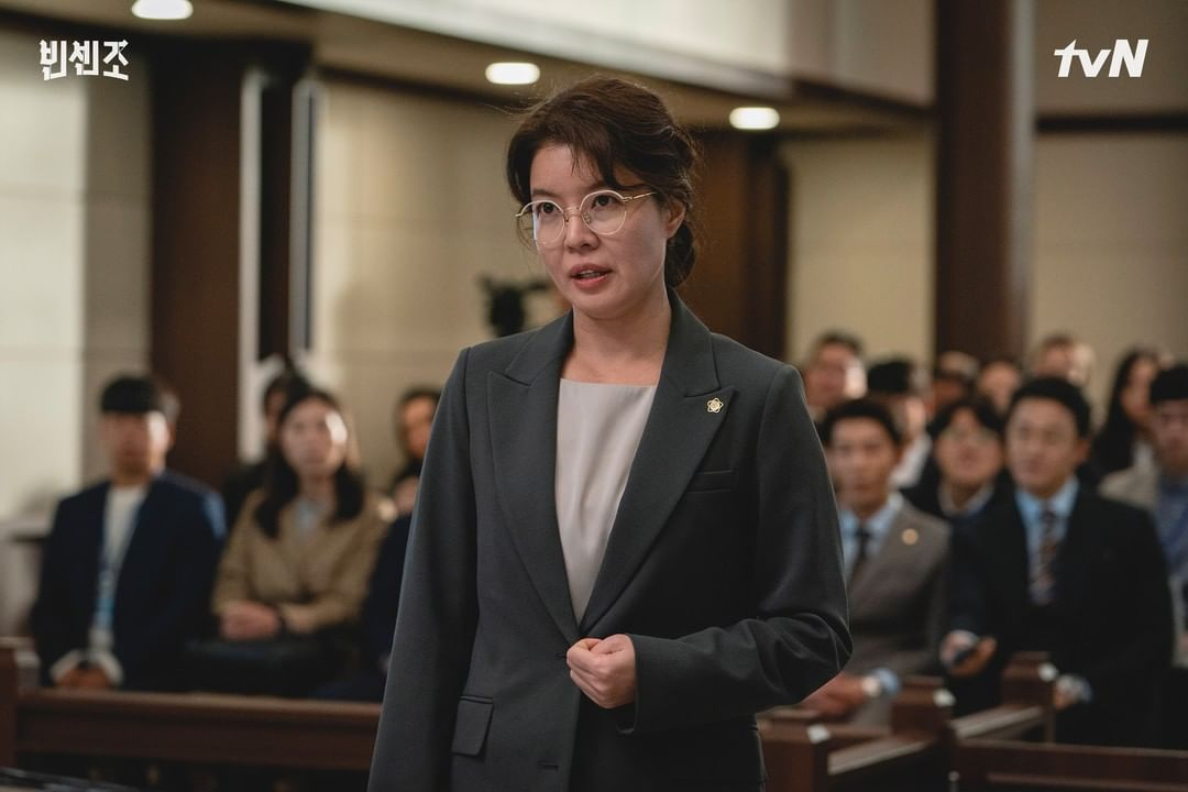 Kim Yeo Jin talks about her villaineous role in vincenzo
