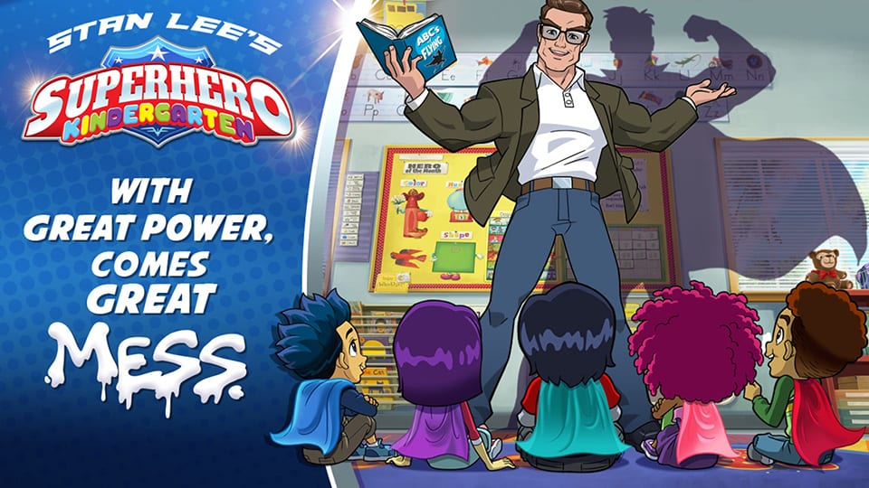 Where can I watch Superhero Kindergarten?