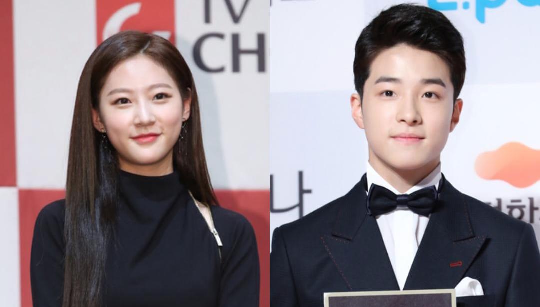 Kim Sae Ron and Nam Da Reum