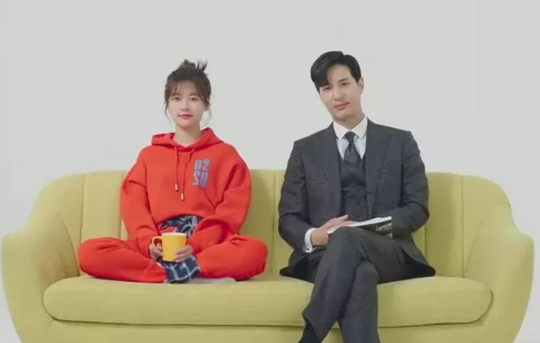 Monthly House Jung So-Min and Kim Ji-Seo describe thier ideal type