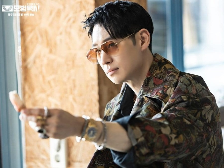 new looks of Kim Do Gi from Taxi Driver
