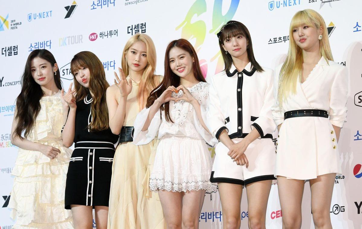 Oh My Girl k-pop girl group