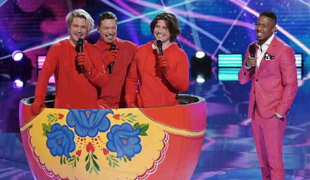 The Russian Dolls on Masked singer