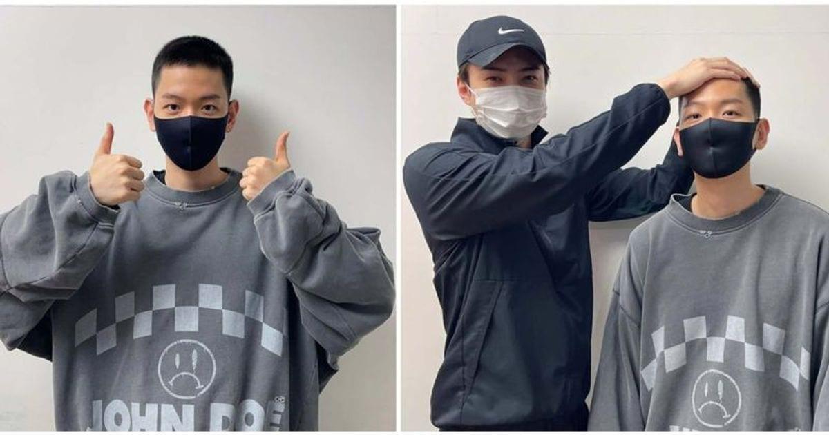 K-POP Baekhyun leaves for his military service