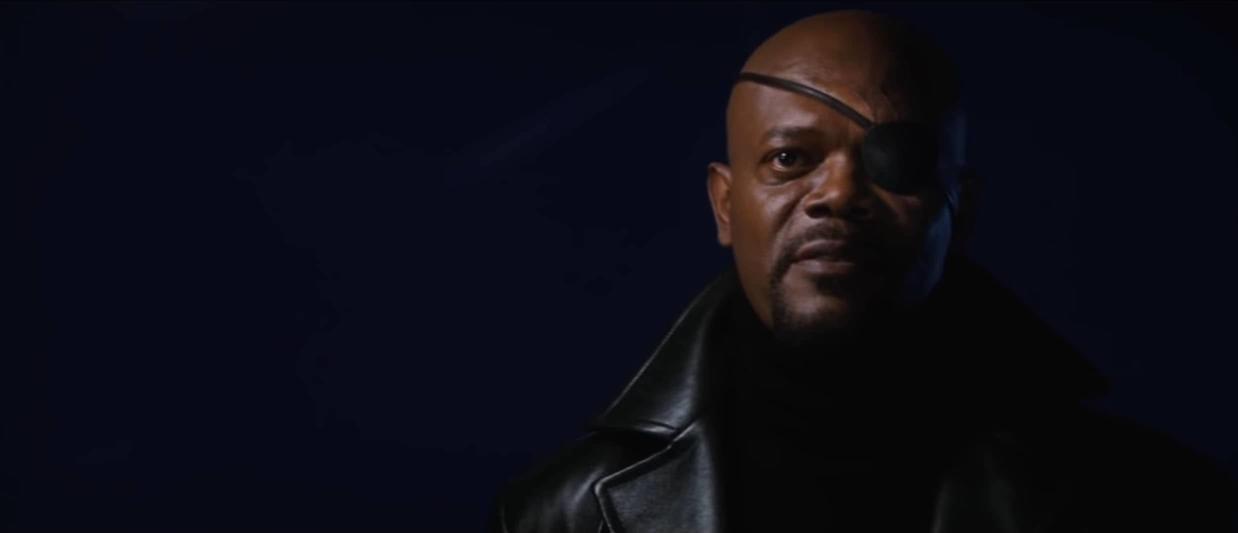 Nick Fury Introduces Tony To Avengers Initiative