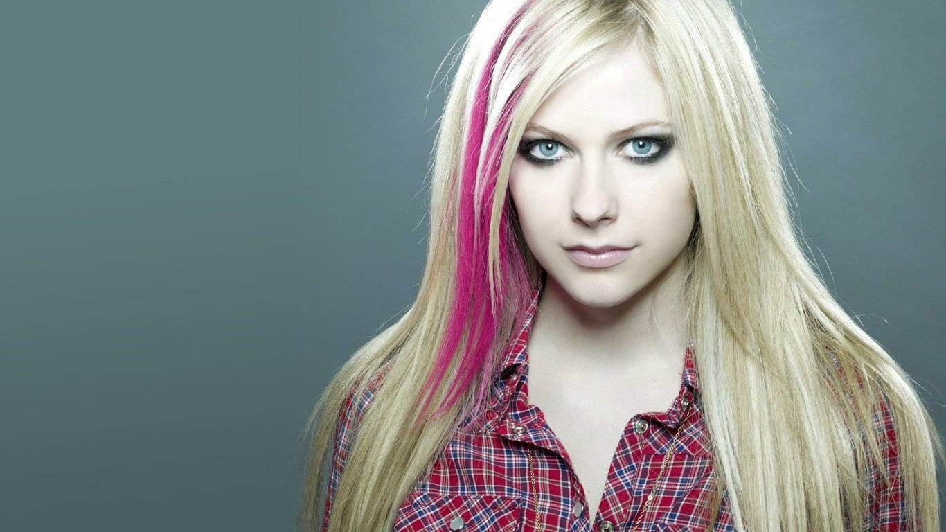 Avril Lavigne TikTok entry