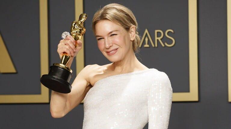 Renee at Oscars