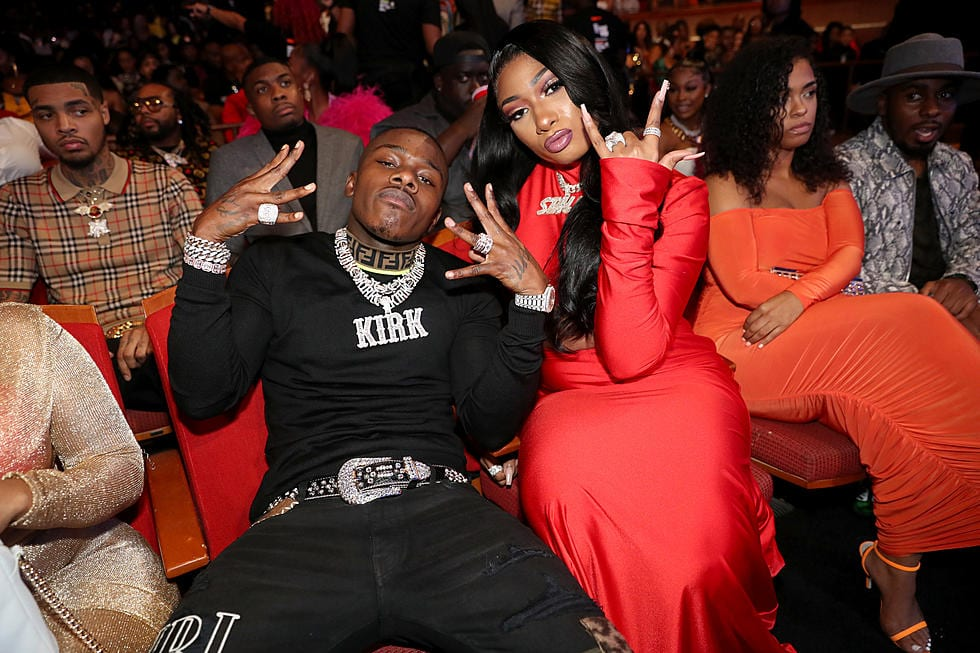 Megan and DaBaby twitter beef