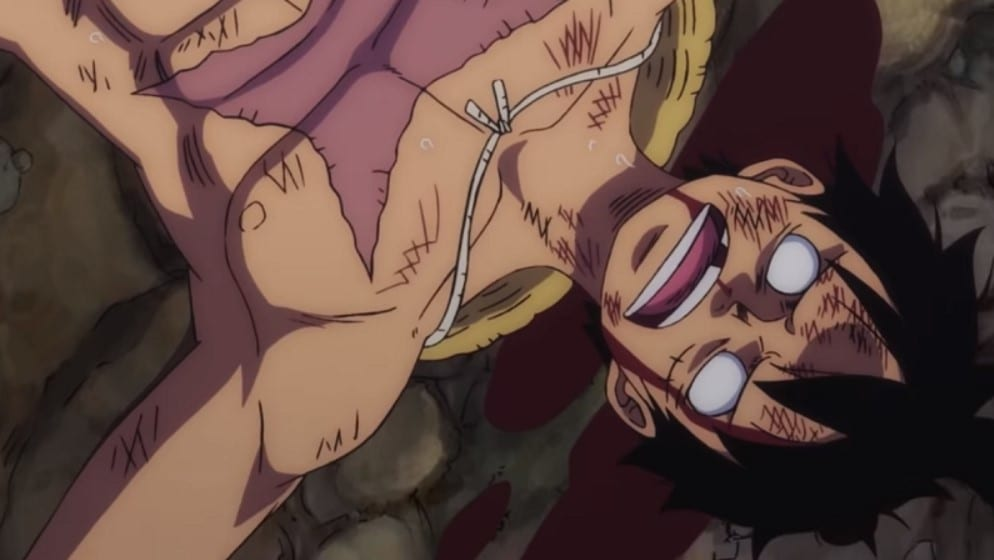 Luffy Defeated