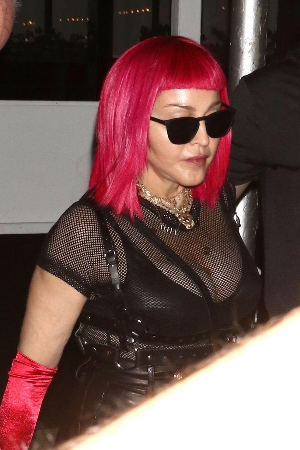 Madonna at Pride Party