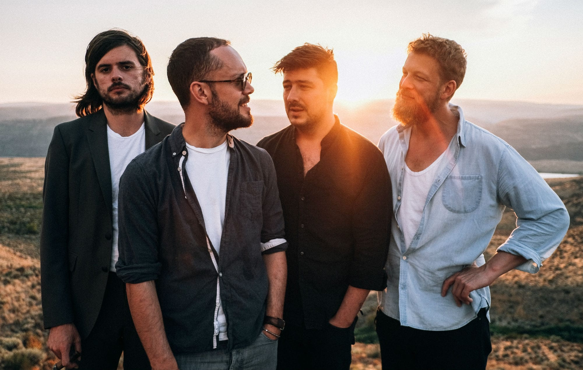 Music band Mumford and Sons