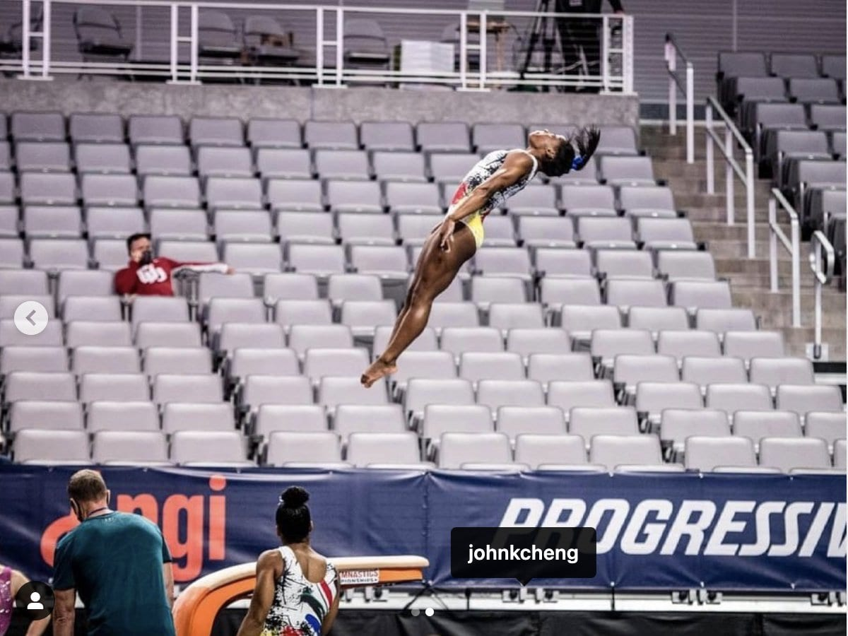 Simone in the US Championships, 2021