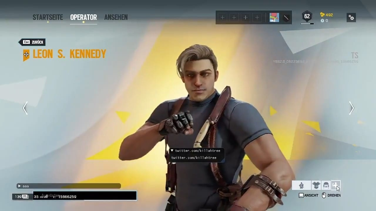 Rainbow Six Siege Leon Skin Leak Suggests Again Possible Collaboration With Resident Evil